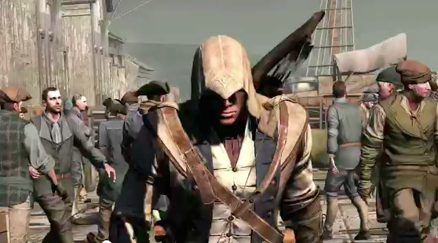 First Assassin S Creed Iii Gameplay Trailer Has Plenty Of Stealthy