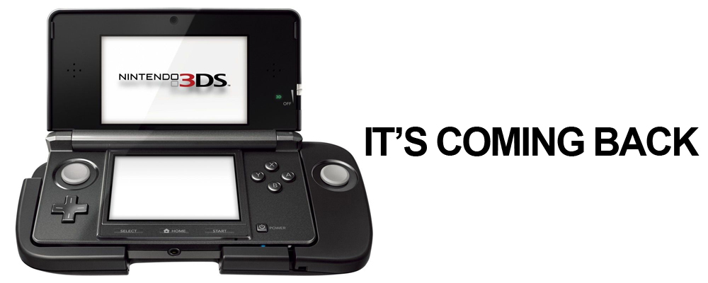 This is not a 3DS XL, by the by.