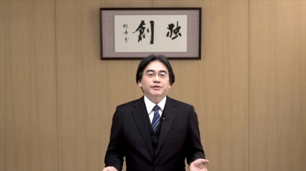 Iwata drops some knowledge.