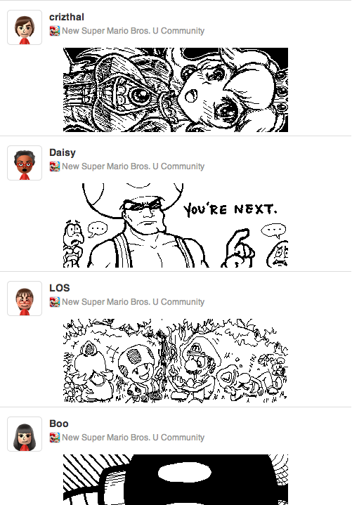 It's the Miiverse, but in your browser!
