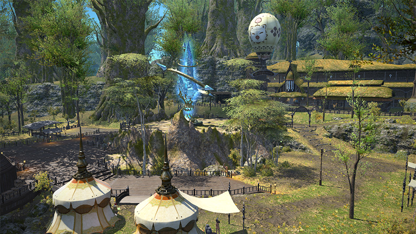 I was a cat person in the Final Fantasy XIV: A Realm Reborn