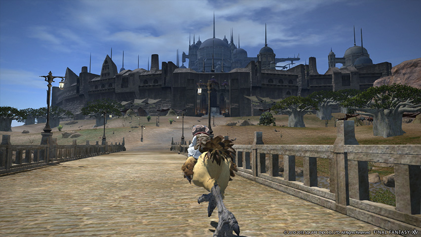 I was a cat person in the Final Fantasy XIV: A Realm Reborn beta