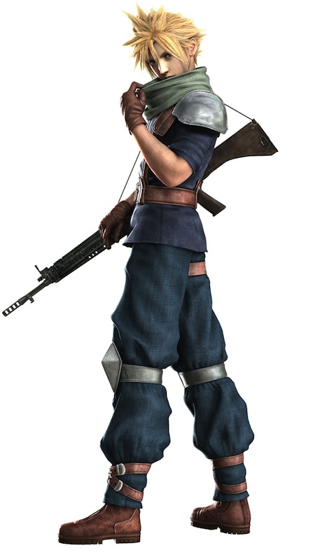 Cloud Strife in Crisis Core