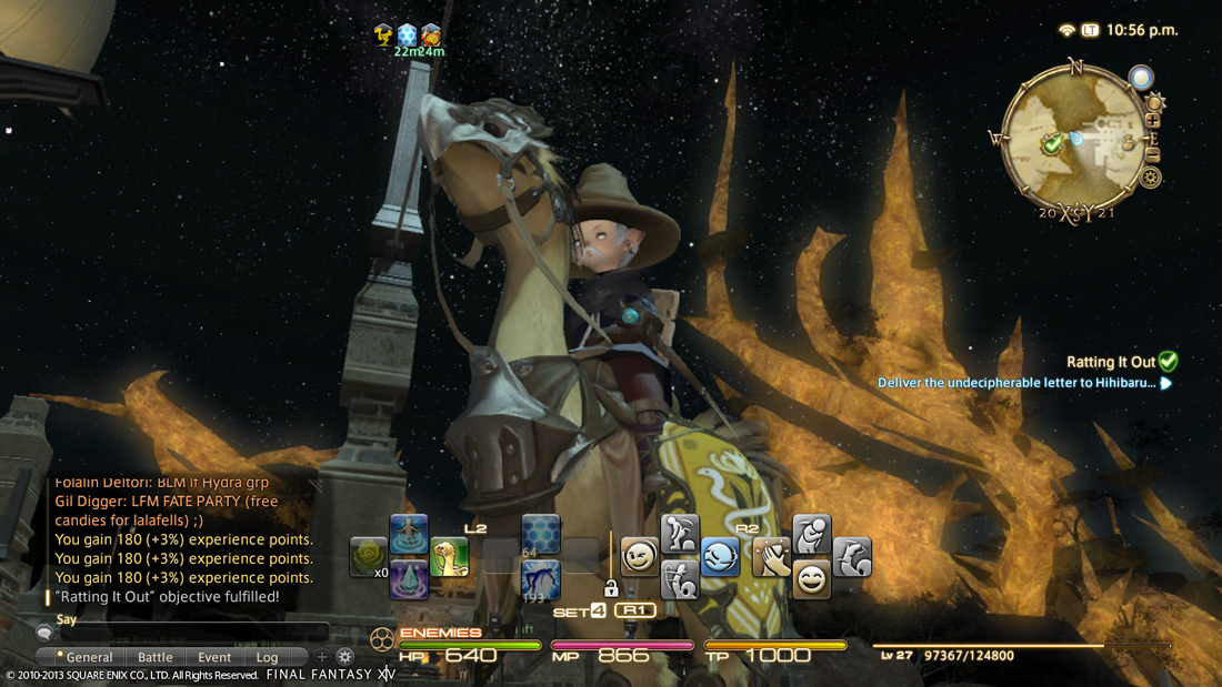Yes, your mount is a Chocobo!