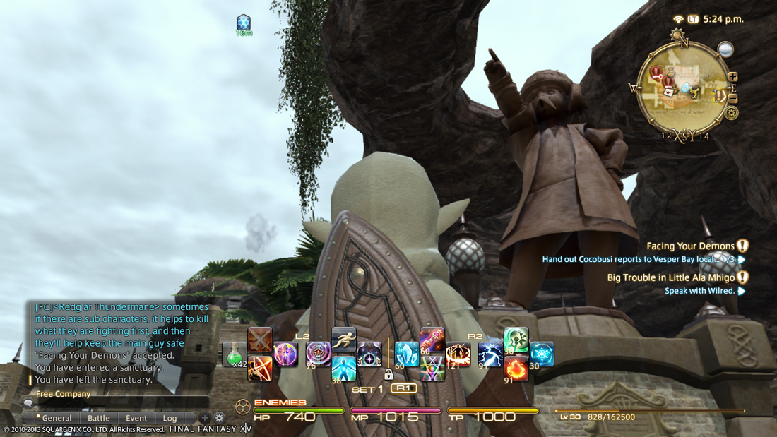 Even mages get shields. Neato!